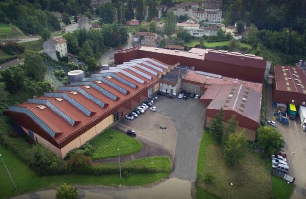 L'usine LNT à Thizy