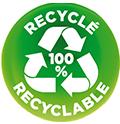 100% recyclable - 100% recyclé