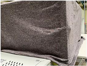 housse de protection textile